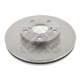 Brake Disc 25569 RAV 4 II (CLA2_, XA2_, ZCA2_, ACA2_) 2.0 4WD (ACA21, ACA20) MY 2005