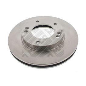 2011 KIA Sorento jc 2.5 CRDi Brake Disc 25571