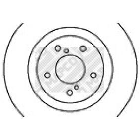 Bremsscheibe Bremsscheibendicke: 24mm, Lochanzahl: 5, Ø: 293mm mit OEM-Nummer 26300 FE010