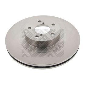 Bremsscheibe Bremsscheibendicke: 24mm, Lochanzahl: 5, Ø: 294mm mit OEM-Nummer 26300FE010