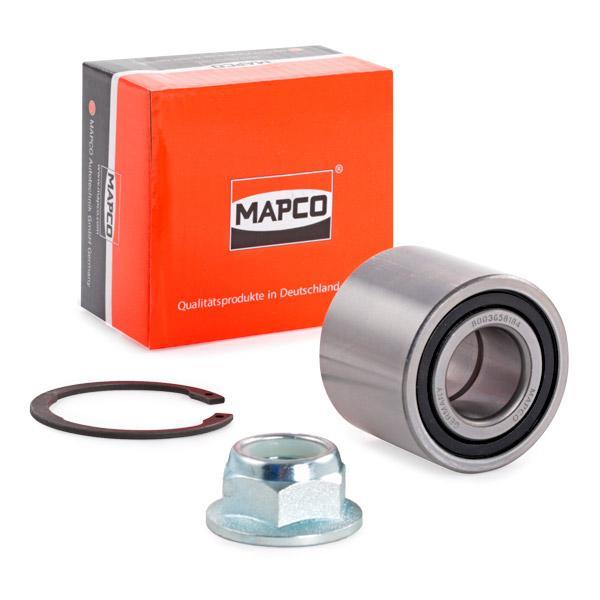Cojinetes de rueda MAPCO 26106 conocimiento experto