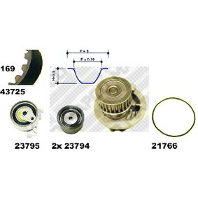 Water pump and timing belt kit Article № 41725 £ 140,00