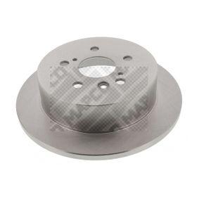 Bremsscheibe Bremsscheibendicke: 12mm, Lochanzahl: 5, Ø: 290mm mit OEM-Nummer 4243128090