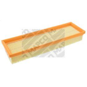 Filtro aria Lunghezza: 333mm, Largh.: 110mm, Alt.: 45mm, Lunghezza: 333mm con OEM Numero 1444.VJ