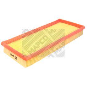 Luftfilter Länge: 320mm, Breite: 150mm, Höhe: 42mm mit OEM-Nummer 3785586