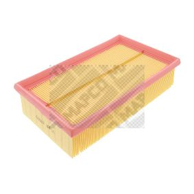 Air Filter Length: 237mm, Width: 140,5mm, Height: 58mm, Length: 237mm with OEM Number 1654 6BN 701