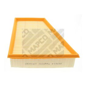 Air Filter Length: 219,3mm, Width: 213mm, Height: 58mm, Length: 219,3mm with OEM Number 6Y0 129 620