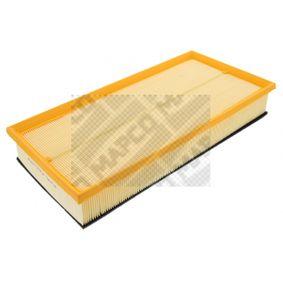 MAPCO Luftfilter 60820 für AUDI Q7 (4L) 3.0 TDI ab Baujahr 11.2007, 240 PS