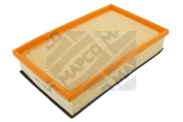 MAPCO  60947 Luftfilter Länge: 230mm, Breite: 89mm, Höhe: 49mm, Länge: 230mm