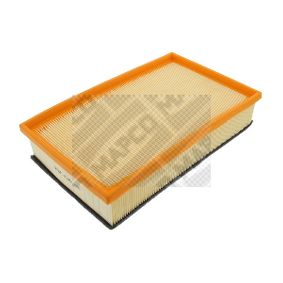 MAPCO  60947 Luftfilter Länge: 230mm, Breite: 89mm, Höhe: 49mm