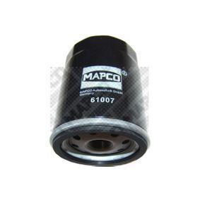 MAPCO  61007 Oil Filter Ø: 76mm, Inner Diameter 2: 62mm, Inner Diameter 2: 71mm, Height: 100mm