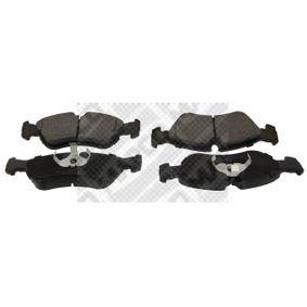 Bremsbelagsatz, Scheibenbremse Breite: 156,3mm, Höhe: 52,4mm, Dicke/Stärke: 17,5mm mit OEM-Nummer 16 05 808.