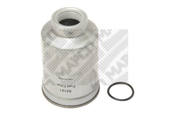 Inline fuel filter 63181 MAPCO 63181 original quality