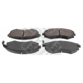 Bremsbelagsatz, Scheibenbremse Breite: 137mm, Höhe: 54mm, Dicke/Stärke: 17mm mit OEM-Nummer 58101 38A00