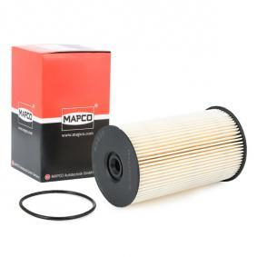 MAPCO Kraftstofffilter 63809 für AUDI A3 (8P1) 1.9 TDI ab Baujahr 05.2003, 105 PS