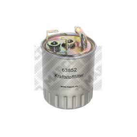 Kraftstofffilter Höhe: 105mm mit OEM-Nummer 611 092 02 01