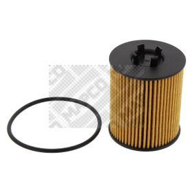 Ölfilter Ø: 62mm, Innendurchmesser: 25mm, Höhe: 78mm mit OEM-Nummer 56 50 316