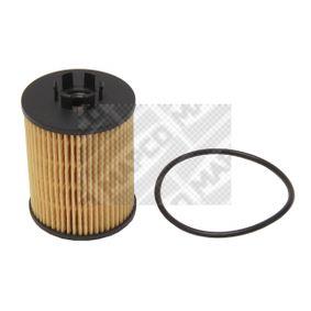 Ölfilter Ø: 59mm, Innendurchmesser: 28mm, Innendurchmesser 2: 30mm, Höhe: 87mm mit OEM-Nummer 16510-84E00