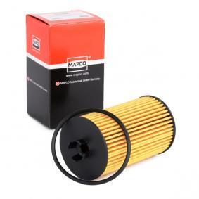 Sistema de pré-aquecimento do motor (eléctrico) OPEL CORSA C Caixa (F08, W5L) 1.2 80 CV de Ano 07.2005: Filtro de óleo (64707) para de MAPCO