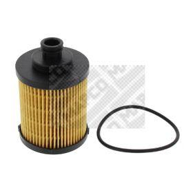 Filtro olio (64708) per per Filtro Olio FIAT GRANDE PUNTO (199) 1.3 D Multijet dal Anno 10.2005 75 CV di MAPCO