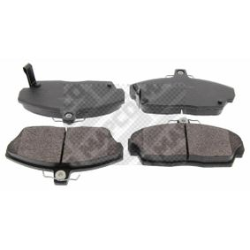 Brake Pad Set, disc brake Width: 129,2mm, Height: 68,8mm, Thickness: 17,5mm with OEM Number 45022-SK3-E00