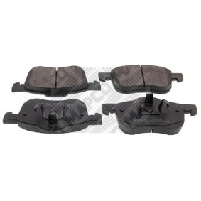Brake Pad Set, disc brake Width: 156,5mm, Height: 72,5mm, Thickness: 18,5mm with OEM Number 272401