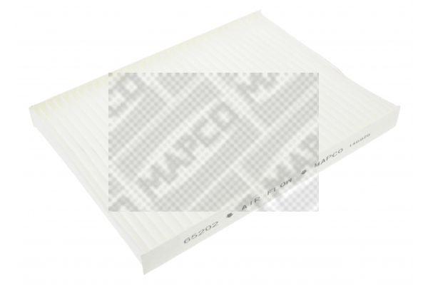 MAPCO  65202 Filter, Innenraumluft Länge: 280mm, Breite: 206mm, Höhe: 25mm