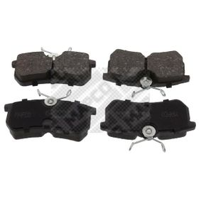 Brake Pad Set, disc brake Width: 87,5mm, Height: 42,4mm, Thickness: 14,8mm with OEM Number 1107698