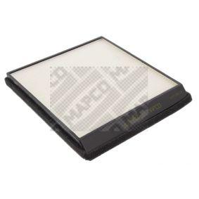 Filter, Innenraumluft Länge: 218,3mm, Breite: 211mm mit OEM-Nummer 6447-Z4