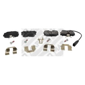 Bremsbelagsatz, Scheibenbremse Breite: 94,9mm, Höhe: 57,2mm, Dicke/Stärke: 17,3mm mit OEM-Nummer 7D0.698.451