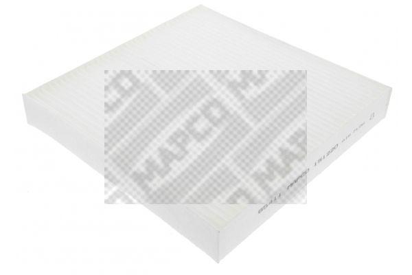 MAPCO  65411 Filter, Innenraumluft Länge: 225mm, Breite: 220mm, Höhe: 35mm