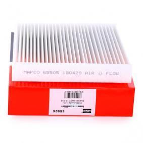 Filter, Innenraumluft Art. Nr. 65505 120,00€
