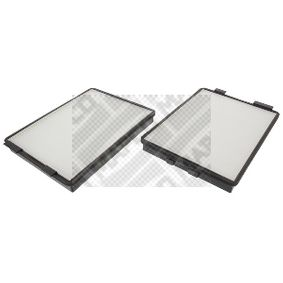 Filter, Innenraumluft Länge: 270mm, Breite: 204mm, Höhe: 30mm mit OEM-Nummer 6431 2 207 985