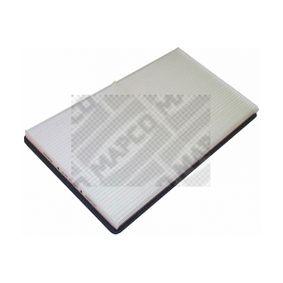 Filter, Innenraumluft Länge: 369,5mm, Breite: 210,5mm, Höhe: 28mm mit OEM-Nummer 0018353047