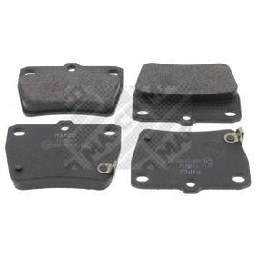 Brake Pad Set, disc brake 6603 RAV 4 II (CLA2_, XA2_, ZCA2_, ACA2_) 2.0 D 4WD (CLA20_, CLA21_) MY 2005