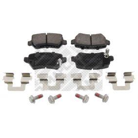 Brake Pad Set, disc brake 6605 Astra Mk5 (H) (A04) 1.7 CDTI MY 2009