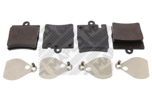MAPCO  6705 Bremsbelagsatz, Scheibenbremse Breite: 63,8mm, Höhe: 78,1mm, Dicke/Stärke: 15,3mm