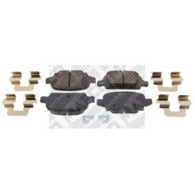 Bremsbelagsatz, Scheibenbremse Breite: 95,6mm, Höhe: 43,8mm, Dicke/Stärke: 14mm mit OEM-Nummer 92 001 32