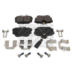 Bremsbelagsatz, Scheibenbremse Breite: 94,7mm, Höhe: 50,9mm, Dicke/Stärke: 16,5mm mit OEM-Nummer 7D0 698 451
