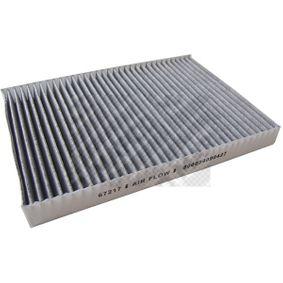 Filter, Innenraumluft Länge: 300mm, Breite: 204mm, Höhe: 30mm mit OEM-Nummer 4B0819439C