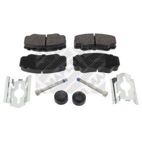 Bremsbelagsatz, Scheibenbremse Breite: 109,7mm, Höhe: 50mm, Dicke/Stärke: 20mm mit OEM-Nummer 4254-68