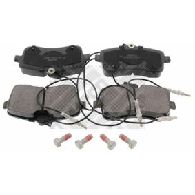 Bremsbelagsatz, Scheibenbremse Breite: 131mm, Höhe: 66,5mm, Dicke/Stärke: 19,5mm mit OEM-Nummer 425422