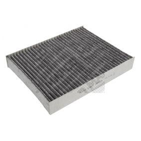 Filter, Innenraumluft Länge: 240mm, Breite: 190mm, Höhe: 35mm mit OEM-Nummer 1204464
