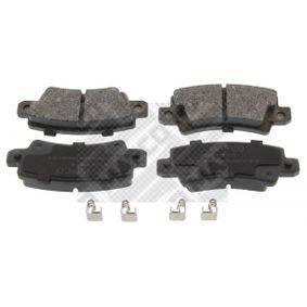 Bremsbelagsatz, Scheibenbremse Breite: 95,7mm, Höhe: 38mm, Dicke/Stärke: 15,8mm mit OEM-Nummer 0446602020