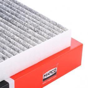 MAPCO Filter, Innenraumluft 67811 für AUDI Q7 (4L) 3.0 TDI ab Baujahr 11.2007, 240 PS