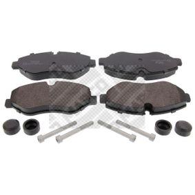 Bremsbelagsatz, Scheibenbremse Breite: 163mm, Höhe: 67mm, Dicke/Stärke: 20,5mm mit OEM-Nummer 2E06 98151