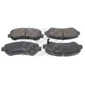 Brake Pad Set, disc brake Article № 6831 £ 140,00