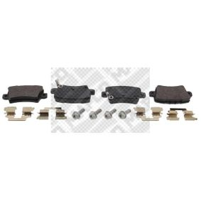 Brake Pad Set, disc brake 6842 CIVIC 8 Hatchback (FN, FK) 2.2 CTDi (FK3) MY 2016