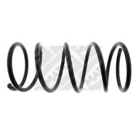 MAPCO  70303 Fahrwerksfeder Länge: 405mm, Dicke/Stärke: 13mm, Ø: 168mm