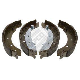 Bremsbackensatz Breite: 38mm mit OEM-Nummer 7701 205 720